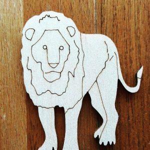 Ξύλινο Λιονταράκι (κωδ. 00049)