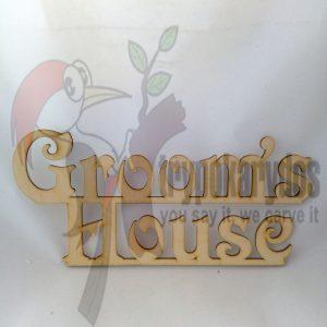 Groom's House (κωδ. 00253)