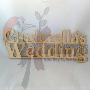 Cinderella's Wedding (κωδ. 00255)
