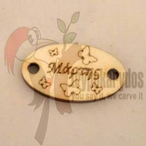 Ξύλινο διακοσμητικό για μάρτη (Κωδ. 00319)