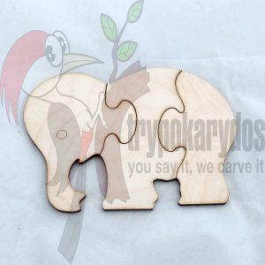 Παζλ Ελέφαντας (Κωδ. 00599)
