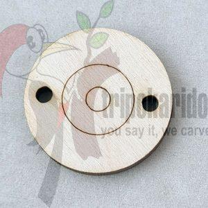 Ξύλινο Μαρτάκι Μάτι (Κωδ. 00810)