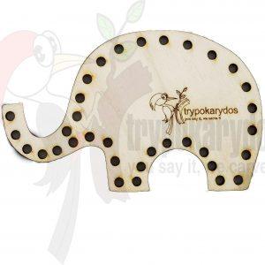 Ελεφαντάκι Ραπτικής μέθοδος Montessori (Μοντεσσόρι) (Κωδ. 00846)
