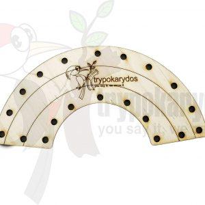 Ουράνιο Τόξο Ραπτικής μέθοδος Montessori (Μοντεσσόρι) (Κωδ. 00844)